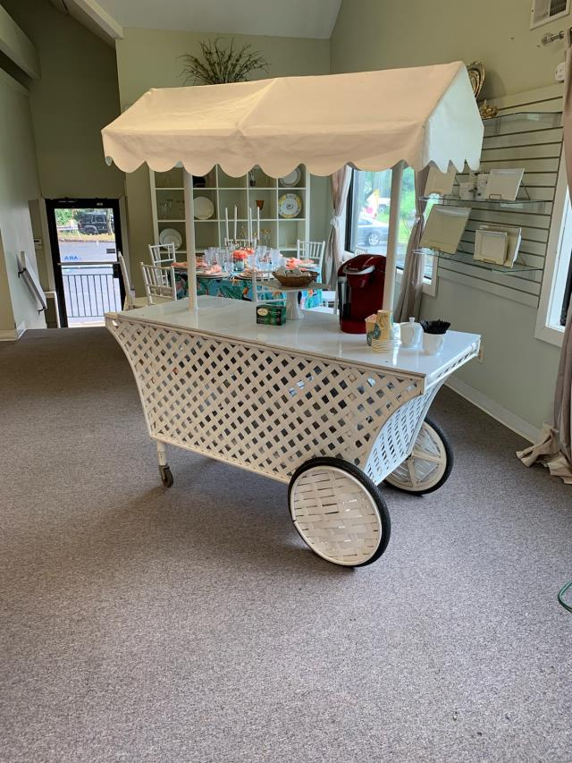 Where to find BAR, LATTICE PUSHCART W CANOPY in Hillsborough
