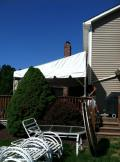 Rental store for TENT, 12  X 7  DECK EXTENSION in Hillsborough NJ