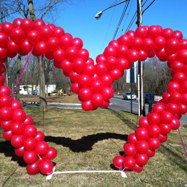 Where to find BALLOON, HEART WALK THROUGH in Hillsborough