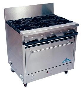 Where to find OVEN - PROPANE  6 BURNERS in Hillsborough