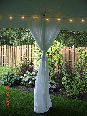 Where to find TENT SIDEPOLE DRAPE in Hillsborough