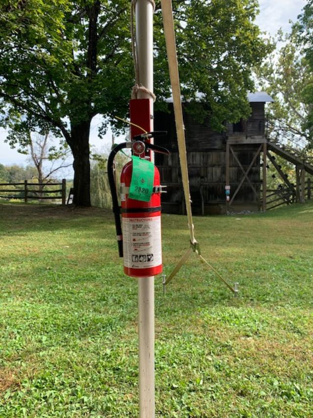 Where to find FIRE EXTINGUISHER in Hillsborough
