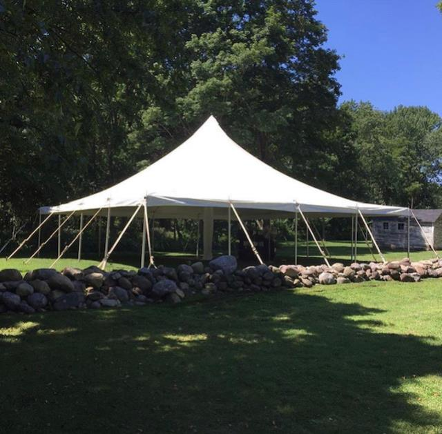 Where to find TENT, 40  X 40  POLE in Hillsborough