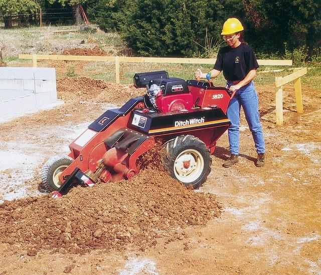 TRENCHER DITCH WITCH 1820 Rentals Hillsborough NJ, Where to Rent
