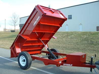 Where to find DUMP TRAILER  3700 LB  GREEN in Hillsborough