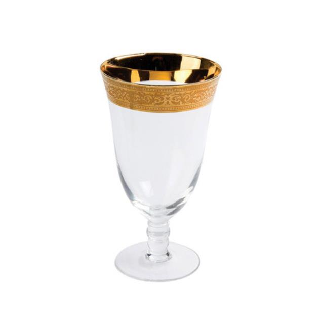 Where to find GRANDEUR WATER GOBLET, GOLD RIM in Hillsborough