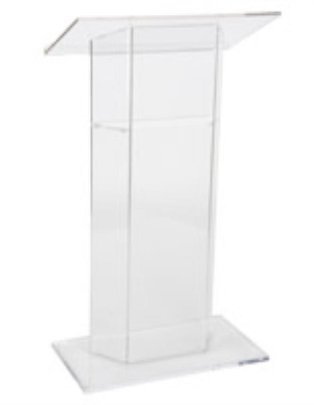 Where to find PODIUM, ACRYLIC  CLEAR in Hillsborough