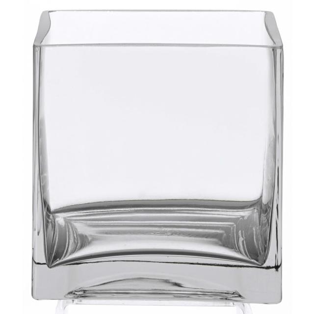 Where to find VASE, 6  X 6  GLASS CUBE in Hillsborough