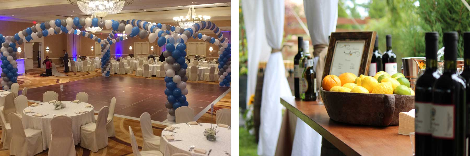 Event rentals in Central New Jersey